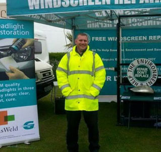 GlasWeld UK Franchisee Ross Cullen