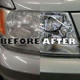 GlasWeld offer outstanding headlight restoration in your local area